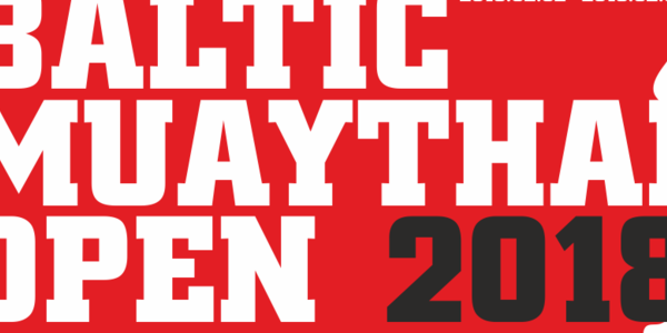 Baltic muaythai open 2018