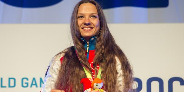 Svetlana vinnikova gold the world games 2017 podium with gia winberg finaland nili block israel  (1)