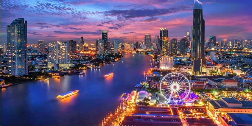 Thailand in pictures most beautiful places bangkok riverfront