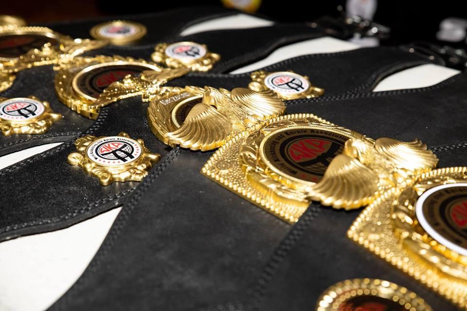 WKA Title Belts