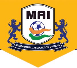 Minifootball association of India (MAI) logo