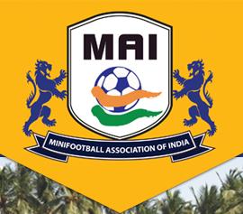 Minifootball association of India (MAI) logo