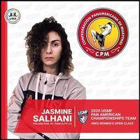 2020 panams peru athlete salhani jasmine