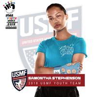 2018 usmf athlete hs   stephenson samontha