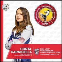 2020 panams peru athlete carcinella coral