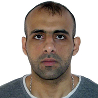 Photo iraq player ali  abdulkareem  al ubaidi
