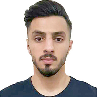 Photo iraq player shahez  fazil  baker