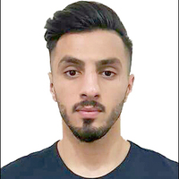 Photo iraq player shahez  fazil  baker