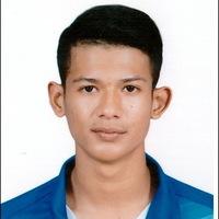 Athlete naruephon chittra