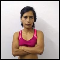 Foto registro atleta femem