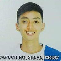 Id phi athlete sid anthony capuchino 51kgsmale