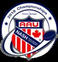 Aau 2018nash puck logo