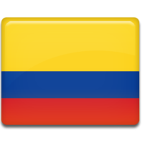 Colombia flag 256