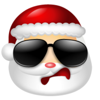Santa clause icon example 2