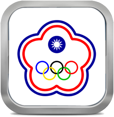 Taipei squared flag button