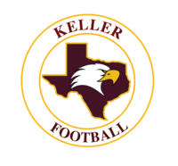 Copy of keller football round print
