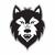 Esprit wolf rgb light gray stroke logo