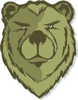Bear head w eyes no logo