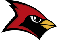 Cardinal mascot color transparent