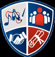 Rhodes sheild logo vector