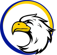 Gis eagle gold and blue