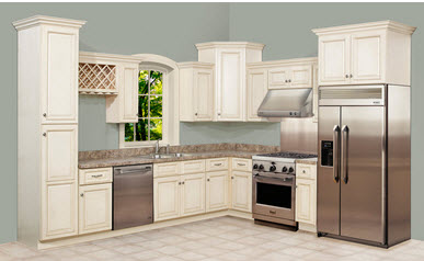 The Differences Between Traditional Elegant White Kitchen Cabinets