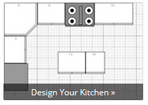 Kitchen Cabinet Layout Design Tool Free Custom Kitchen Layout Tool at RTA CabiStore   RTA