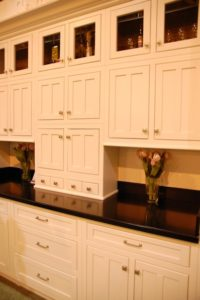 Adirondack White Kitchen Cabinets with Inset Doors ...