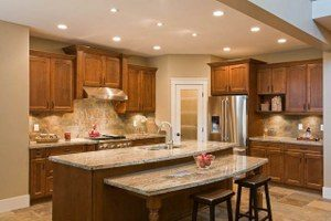Why Does Kitchen Island Height Matter? - RTA Kitchen Cabinets