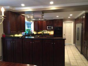 The Dark Wood Kitchen Rta Kitchen Cabinets