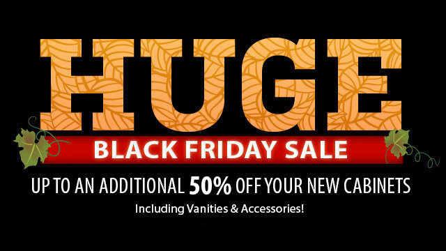 2019 Black Friday Sale Extended! - RTA Kitchen Cabinets