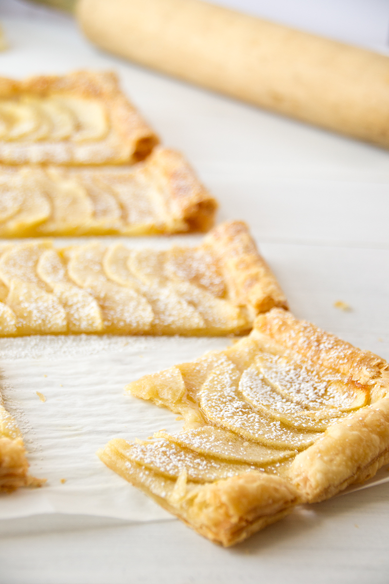 how to cook apple pie with puff pastry