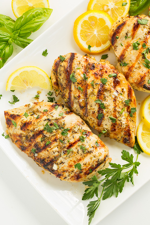 breast recipe Grilled lemon chicken