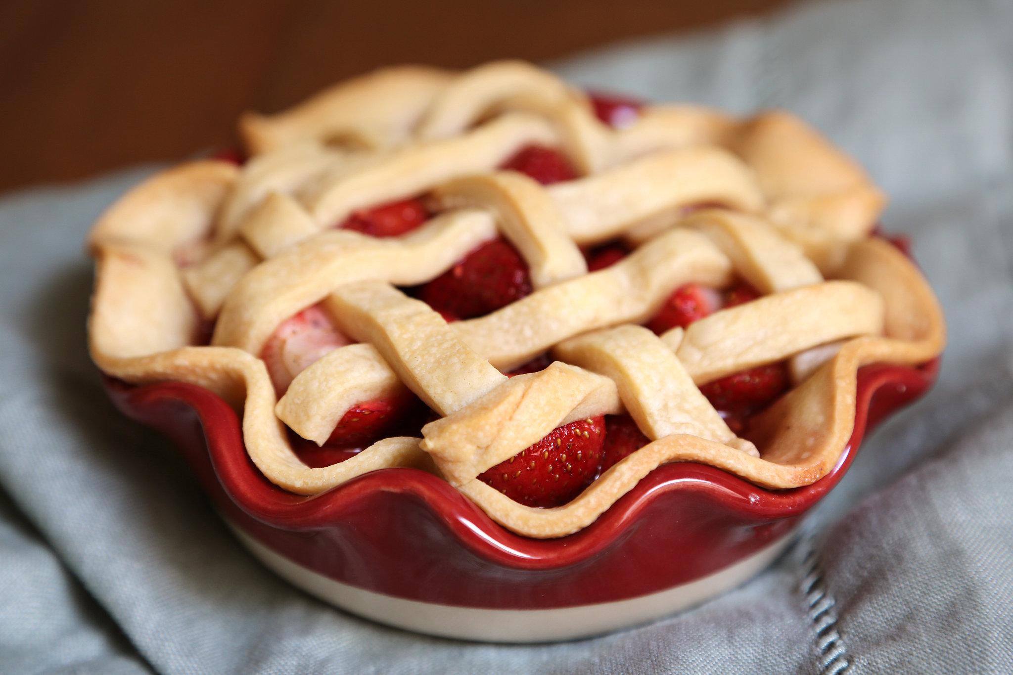 Strawberry-Raspberry Pie