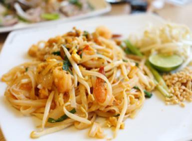 Pad Thai With Shrimp Gluten Free