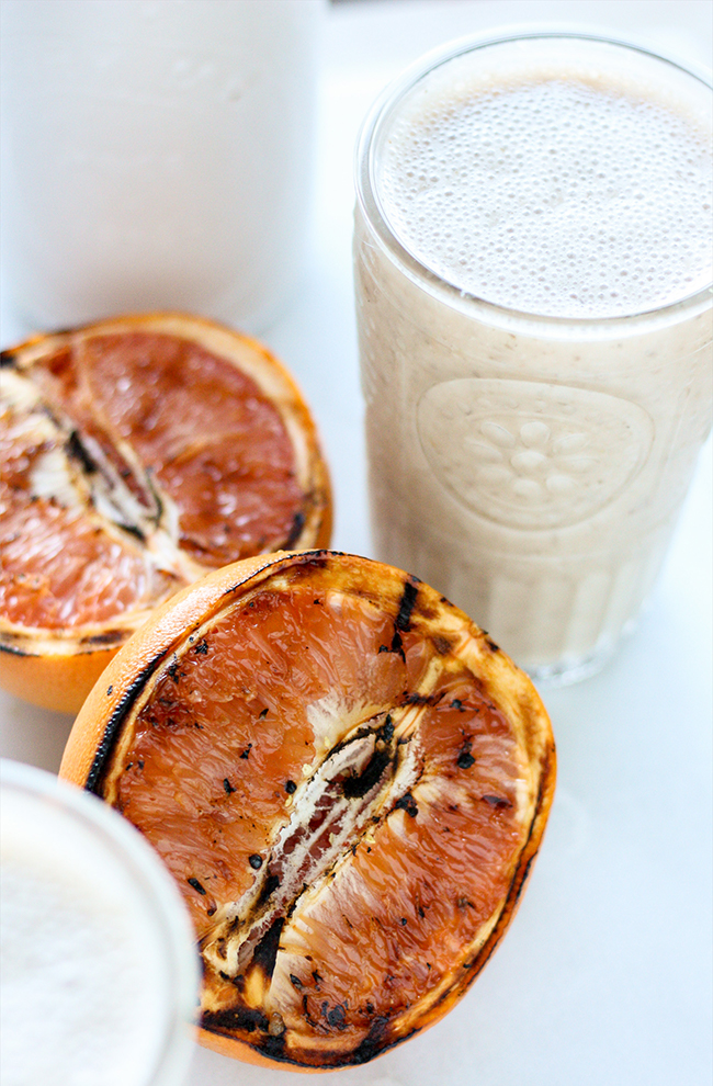Grilled Grapefruit Smoothie