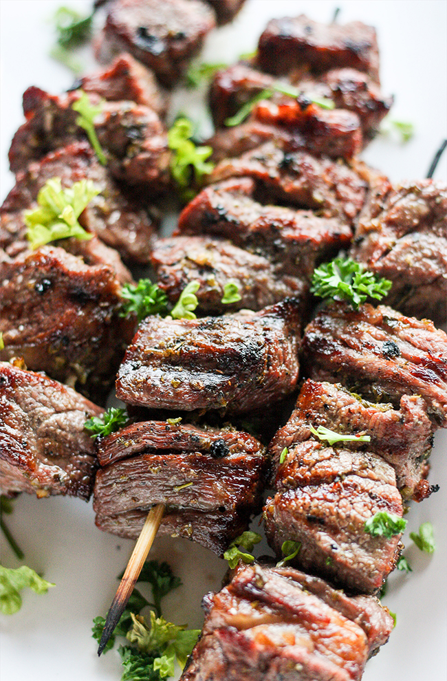 Grilled Steak Kebobs