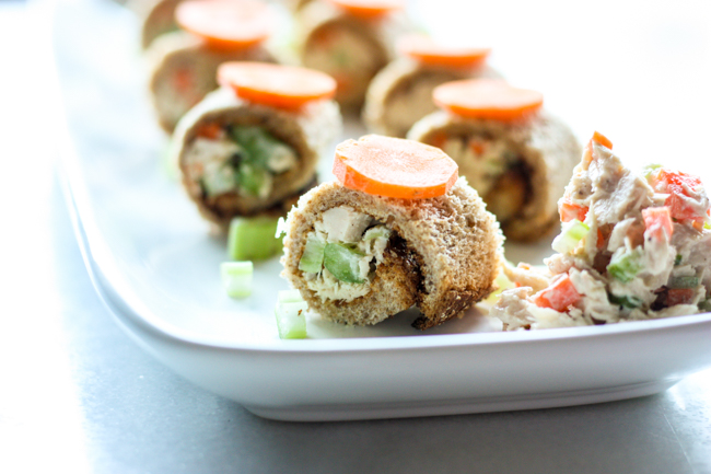 Tuna Salad Sandwich Sushi Roll