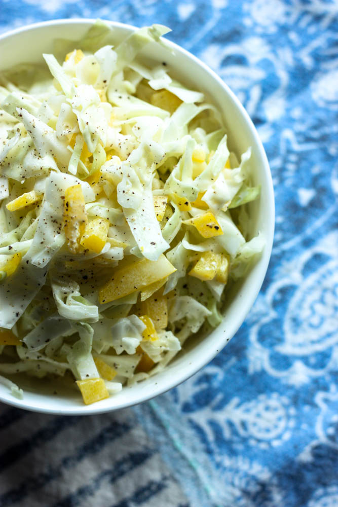 Easy Cabbage Slaw