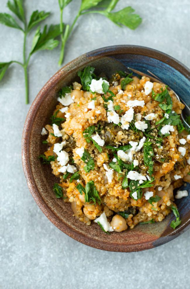 Pumpkin Quinoa Casserole