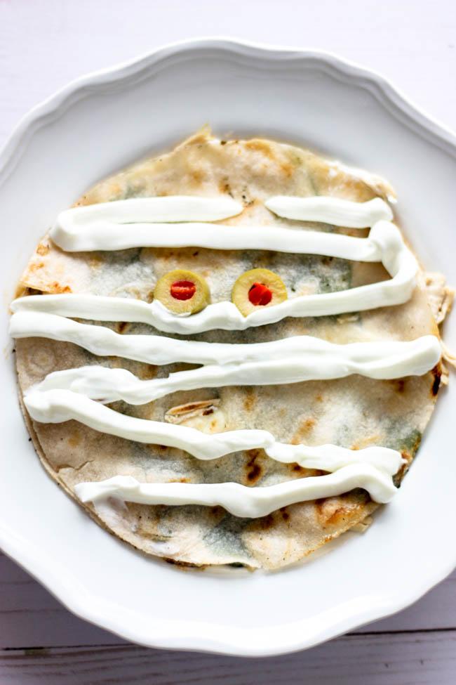Mummy Quesadilla