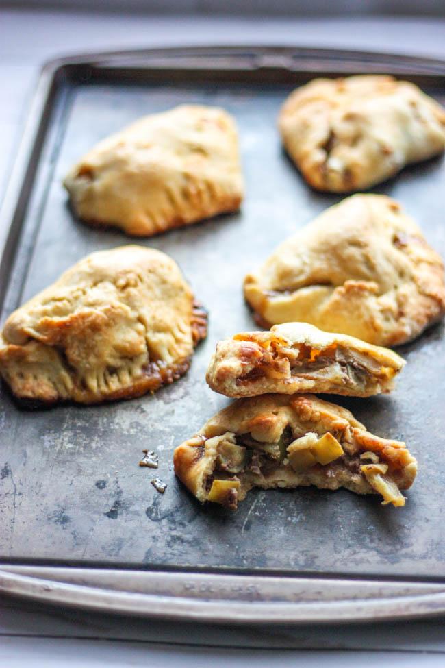 Caramel Apple Pie Turnovers