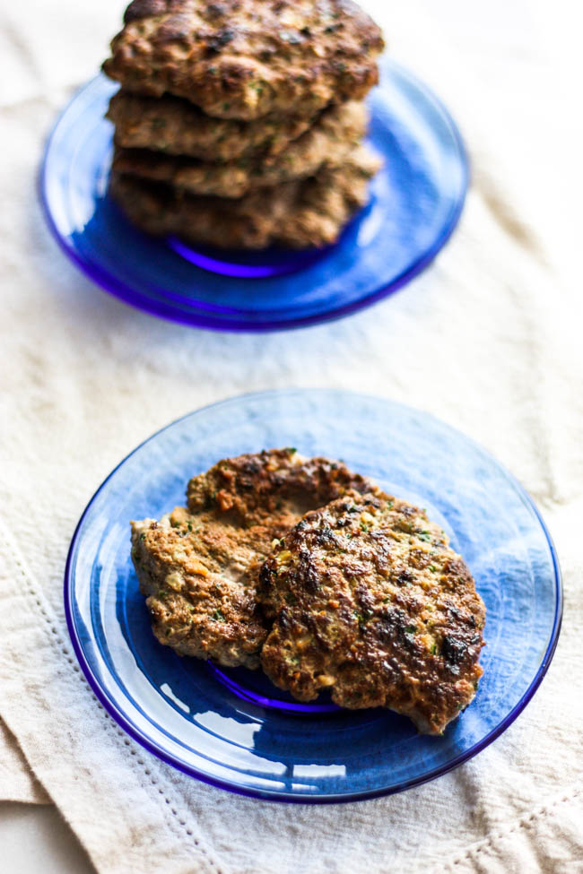 Apple & Kale Breakfast Sausage Patties