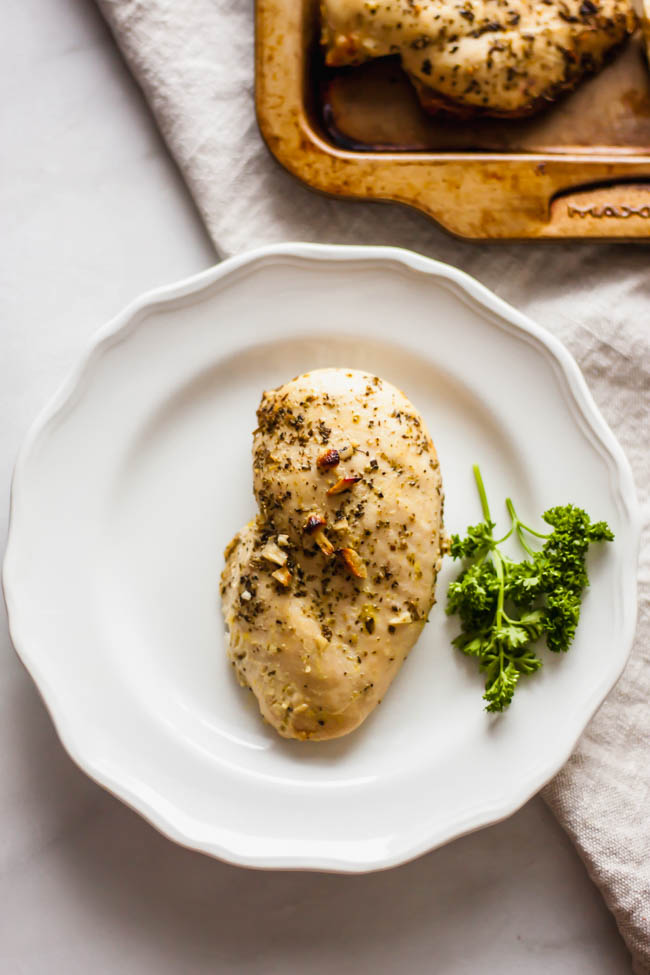 Easiest Lemon Garlic Chicken Breast