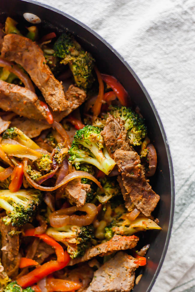 Easy Ginger Beef Stir Fry