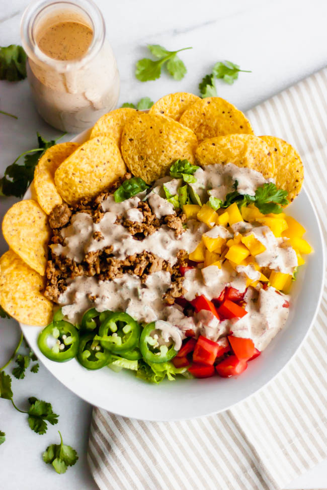 The Best Crunchy Taco Salad