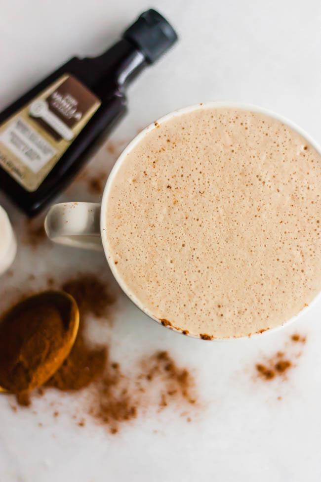 Whole30 Cinnamon Collagen Latte