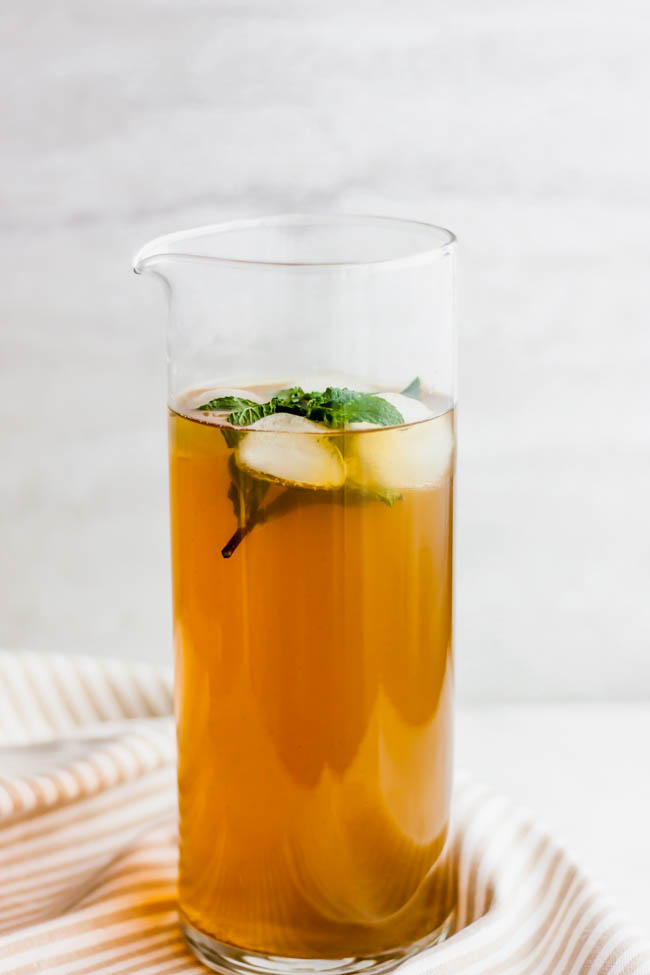 The Perfect Iced Green Tea