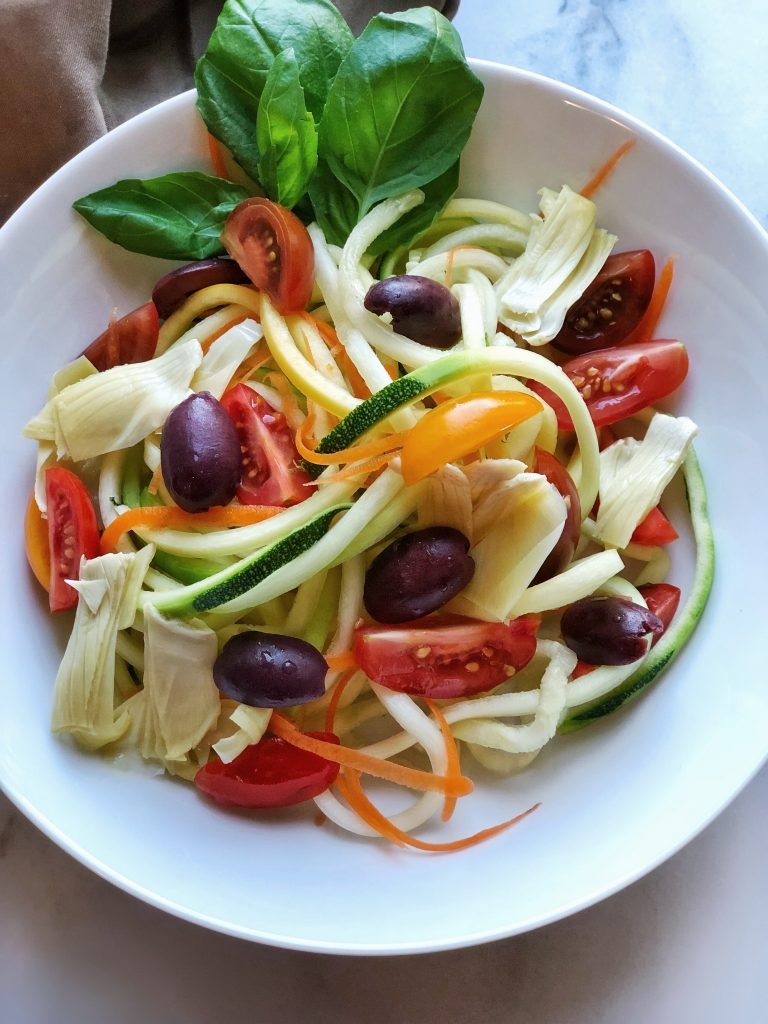 Classic Zoodle Pasta Salad