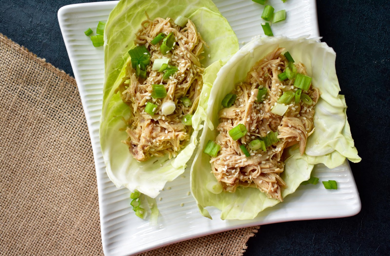 TheseOrange Teriyaki Chicken Tacos spice up what it means to be a taco with some Asian flair.